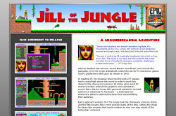 Jill of the Jungle Website